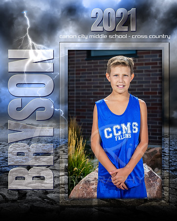 Bryson Rall CCMS XCountry Individual 8x10