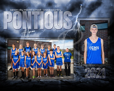 Hyrumn Pontious CCMS Cross Country Memory Mate 2021