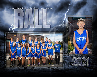 Bryson Rall CCMS Cross Country Memory Mate 2021
