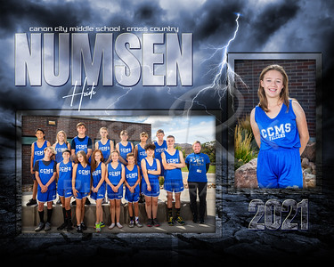 Heidi Numsen CCMS Cross Country Memory Mate 2021
