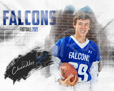 Chandler Bell CCMS Football Individual