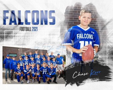 Chase Kerr  CCMS Football Memory Mate