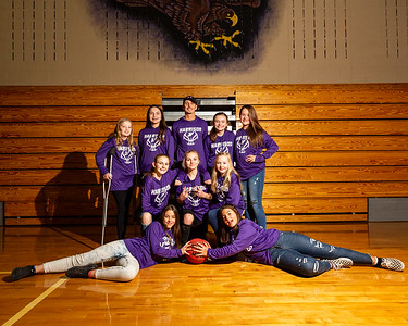 Harrison Middle School Girls Basketball 2020