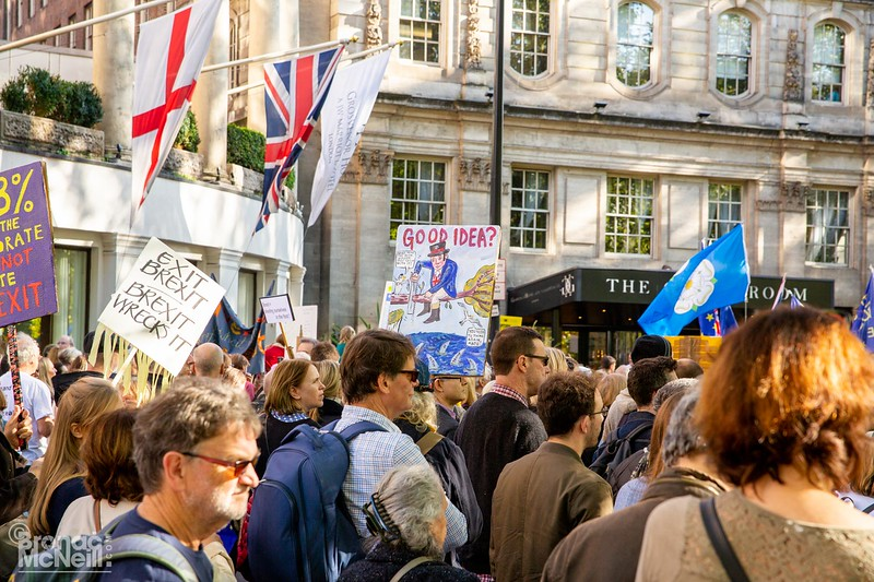 The People's Vote March, London, 20Oct2018, ©BronacMcNeill
