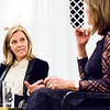 Mary Nightingale & Dame Carolyn McCall, WACL Dame Carolyn McCall Speaker Dinner, 13Mar2017, photographerBronacMcNeill
