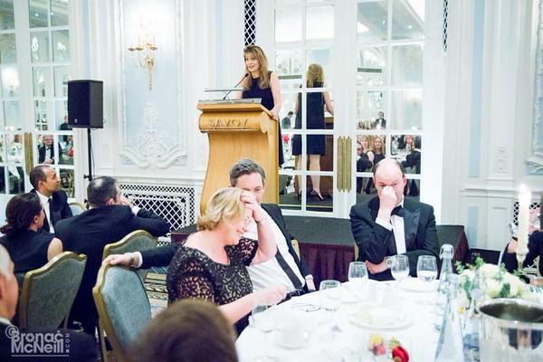WACL, Speakers Dinner with Mariella Frostrup, 26Jan2016, ©BronacMcNeill
