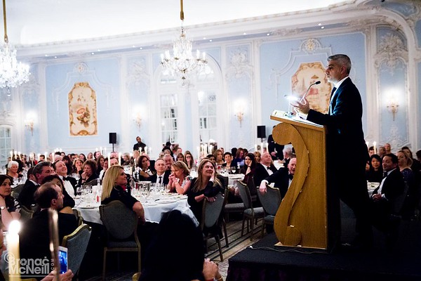 WACL Sadiq Khan Speaker Dinner, 23Jan2017, photographerBronacMcNeill