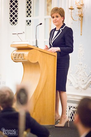 WACL Speakers Lunch with Nicola Sturgeon, 29Feb2016, photographer BronacMcNeill