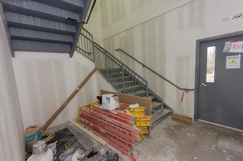 Stairwell  - West