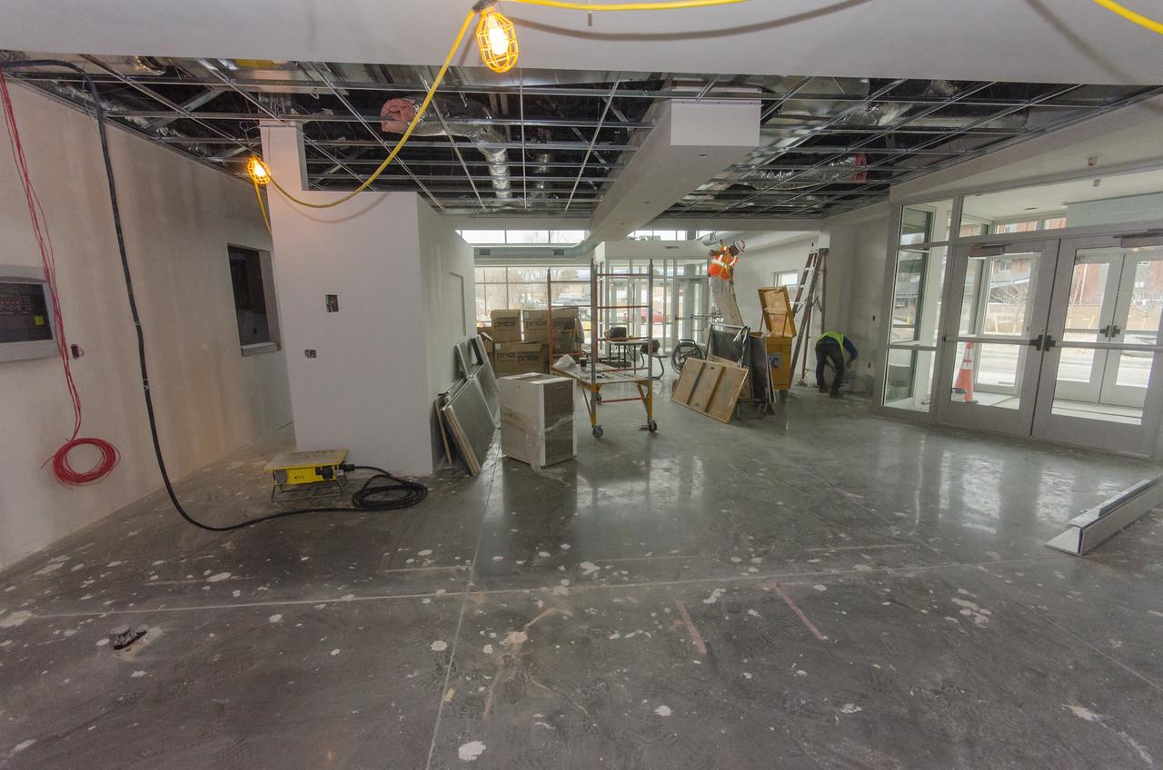 Emergency Entrance (Rt)/Cashier Center/Workroom (lft)