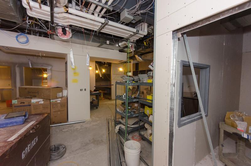 Looking from CT/MRI vestibule
