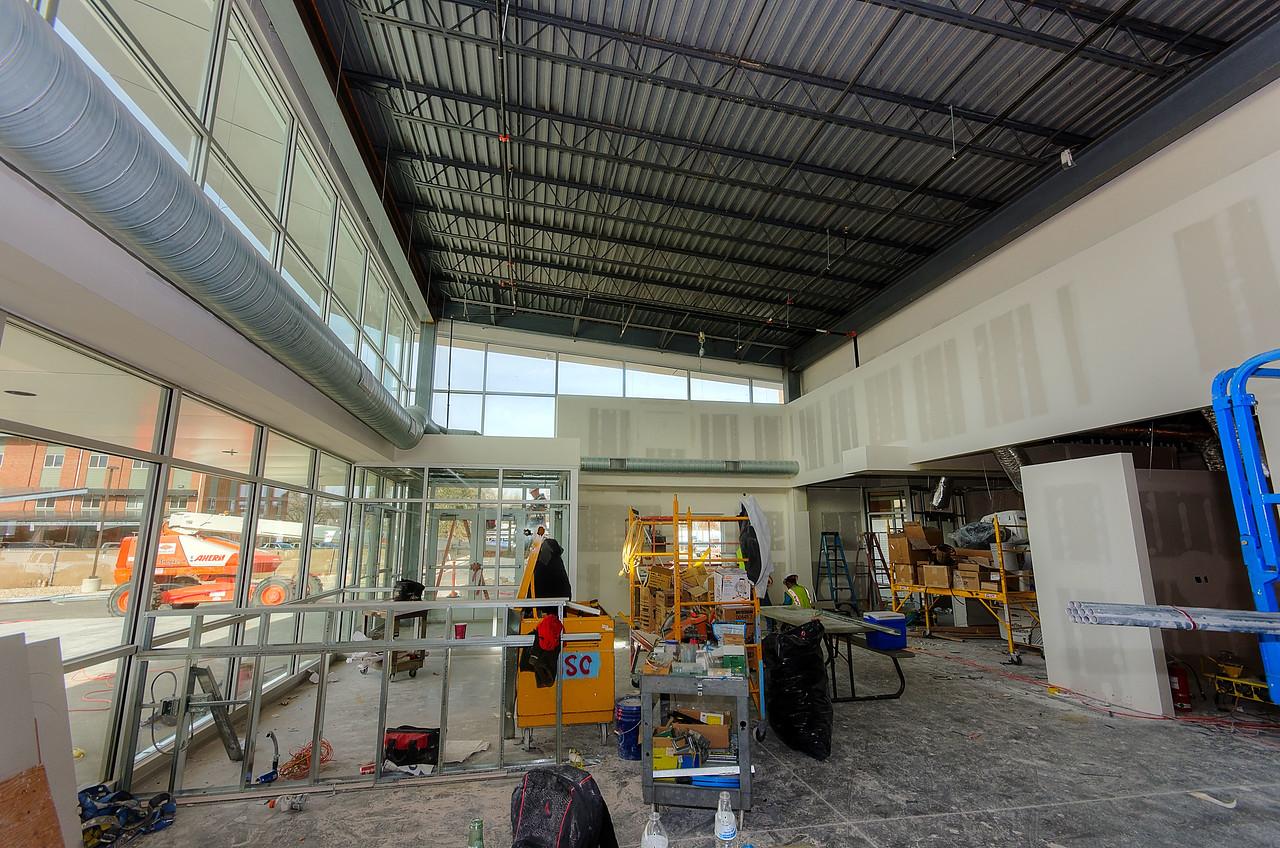 Main Lobby facing Main Entrance