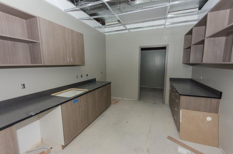 Food Prep Area and Storage Closet