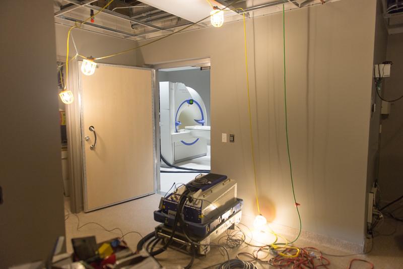 MRI Room Entrance