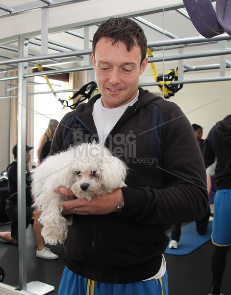 James Duigan and Penny Lane. You magazine readers training day with James Duigan and the Bodyism team, London, 18th June 2011. ©BronacMcNeill