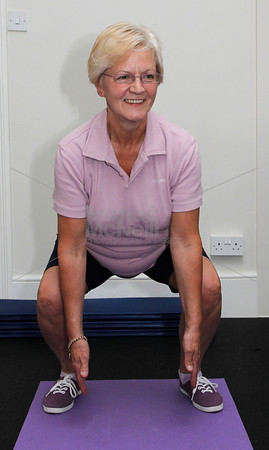 June Watson. You magazine readers training day with James Duigan and the Bodyism team, London, 18th June 2011. ©BronacMcNeill