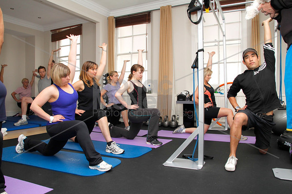 You magazine readers training day with James Duigan and the Bodyism team, London, 18th June 2011. ©BronacMcNeill