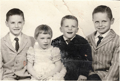 Mike, Dorothy, Jim and Bill October 27, 1960 San Mateo, California