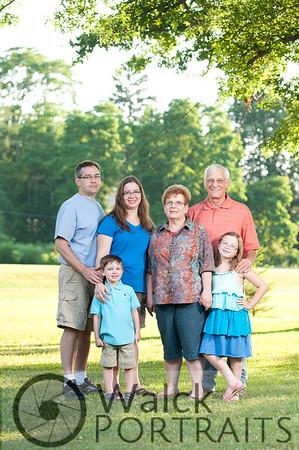 Betty Raup & Family