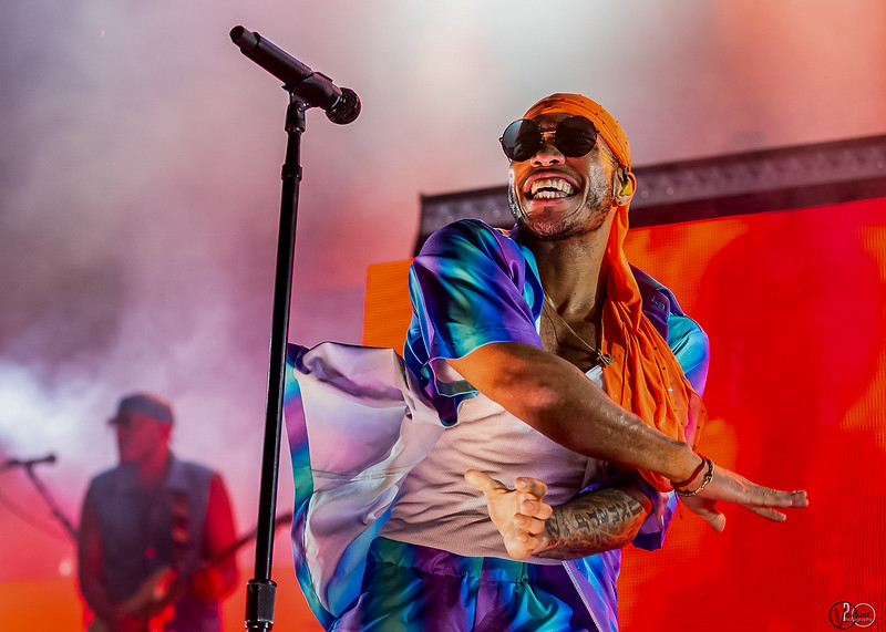 Anderson Paak & The Free Nationals on the Mast Stage at Forecastle Festival 2019. Photo by Tony Vasquez