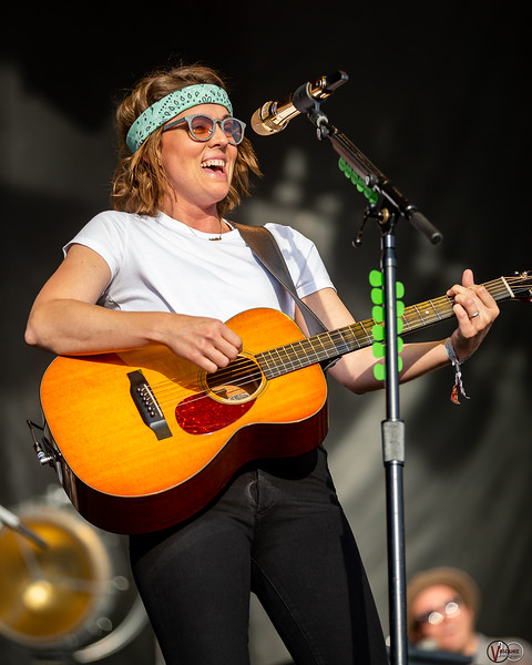 Brandi Carlile on the Limestone Stage at the Railbird Festival in Lexington, KY Photo by Tony Vasquez.