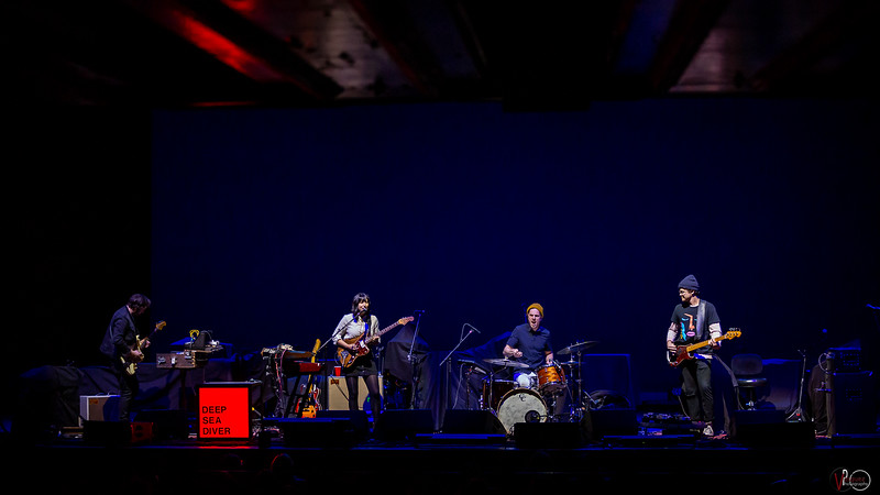 Deep Sea Diver opening for Wilco at the Old National Centre on November 12, 2019. Photo by Tony Vasquez.