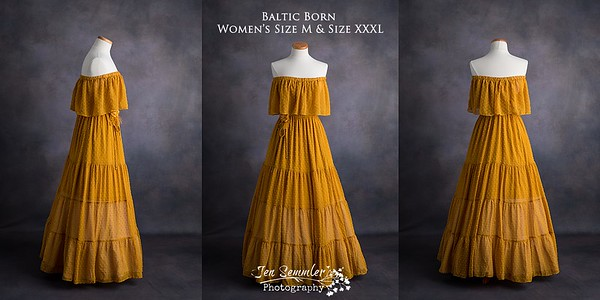 Momma Size s & size l Baltic Born golden yellow