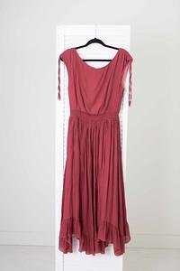 Gia Dress in Mesa Rose