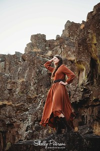 Kimani Dress in Cinnamon
