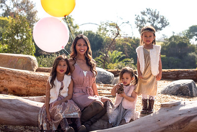 Michelle Novales and kids Family Fall Photos