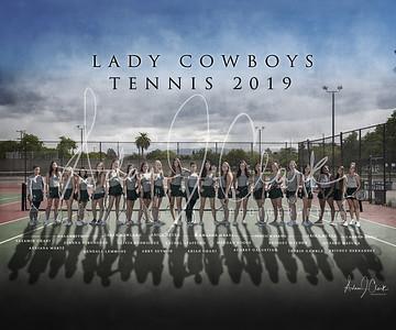 LHS Ladies Tennis 2019