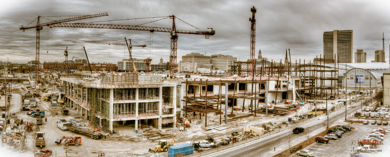 MUSIC CITY CENTER CONSTRUCTION, NASHVILLE  02/23/11