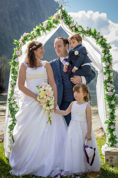 Killian and Emma Wedding - Montriond & Morzine
