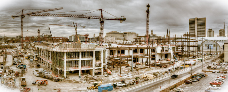 MUSIC CITY CENTER CONSTRUCTION, NASHVILLE  02/23/11