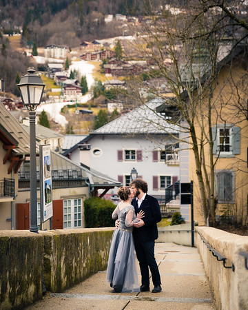 Rebekah and Michael Wedding St Gervais