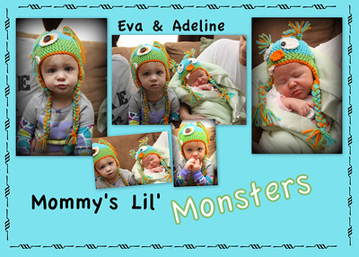 Mommys lil monsters Adeline Schulte