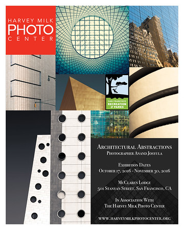 Architectural Abstractions 16x20 Poster