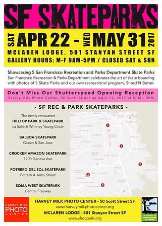 SF Skate Parks - 5x7 Postcard - Back Draft 6