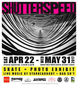 Shutterspeed - Poster - 20x22