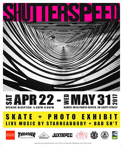 Shutterspeed - Poster - 20x24
