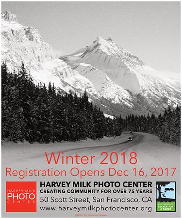 Winter 2018 Classes - 20x24 Poster