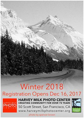 Winter 2018 Classes - 5x7 Post Card