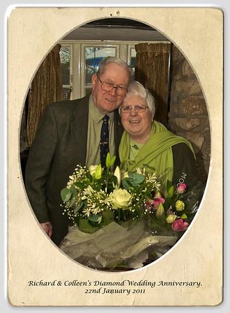 Colleen & Richard Diamond Wedding