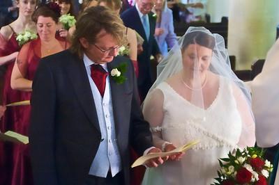 Sophie & Mike, St John's, Farrington Gurney, Bristol