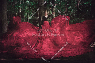 28ft parachute dress photo session from this week