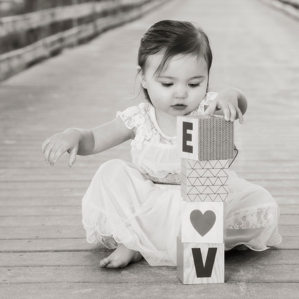 Look Mommy I can spell LOVE