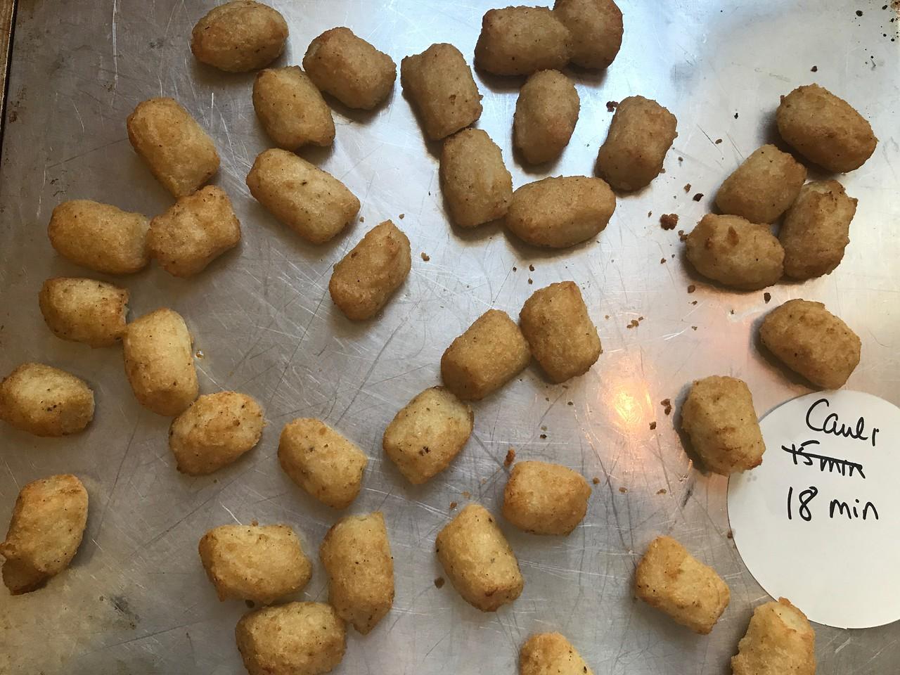 Cauliflower Tots