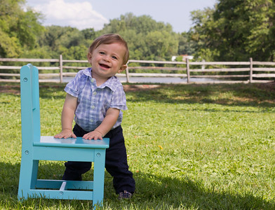 Baby A - 11 months family photos