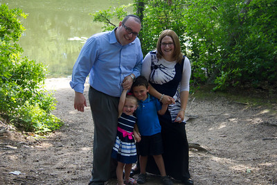 T Family in the Park
