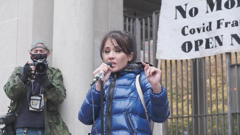 Lockdown Protest Nov 22, 2020